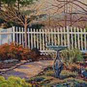 Dotti's Garden Winter Art Print