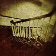 Down A Staircase Art Print