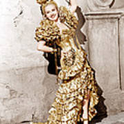 Down Argentine Way, Betty Grable, 1940 Art Print