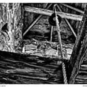 Downeast Bell Tower Art Print