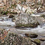 Downstream From Cascade Falls Art Print