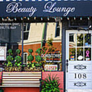 Downtown Beauty Lounge Art Print