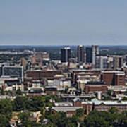Downtown Birmingham Alabama Art Print