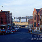 Downtown Eastport Maine Art Print by Geri Harkin-Tuckett