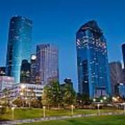 Downtown Houston Art Print