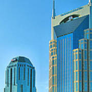 Downtown Nashville I Print by Steven Ainsworth