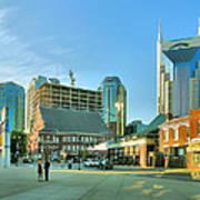 Downtown Nashville IIi Art Print by Steven Ainsworth