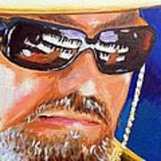 Dr John Art Print by Terry J Marks Sr