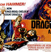 Dracula A.d. 1972, Stephanie Beacham Art Print
