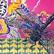 Dragonfly Art Print by Amy Reisland-Speer