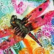 Dragonfly Fairy II Art Print