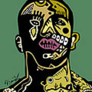 Drake Full Color Art Print
