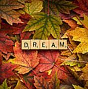Dream-autumn Art Print