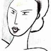 Dream Girl Art Print by Al Goldfarb