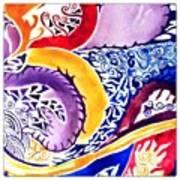 Dreaming In Watercolors Art Print