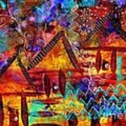 Dreamland - My Imaginary Getaway Art Print
