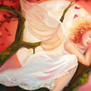 Dreams Of Strawberry Moon Art Print