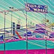 Dreamy Tilt-a-whirl Carnival Ride Art Print
