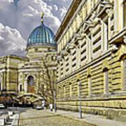 Dresden Academy Of Fine Arts Art Print by Christine Till