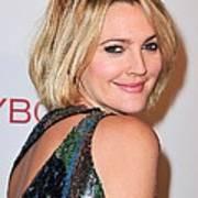 Drew Barrymore Wearing Pucci Art Print
