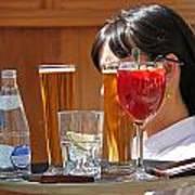 Drinks Sir Art Print