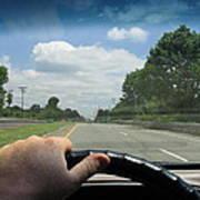 Drivers Window Art Print