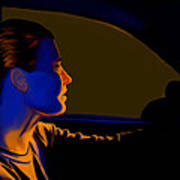 Driving Art Print