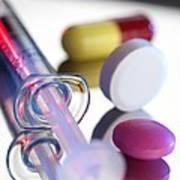 Drugs Print by Tek Image