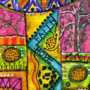 Drum Land Art Print