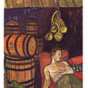 Drunken Arousal Art Print