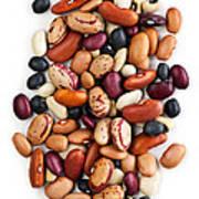 Dry Beans Art Print by Elena Elisseeva