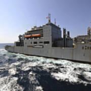 Dry Cargoammunition Ship Usns Richard Art Print
