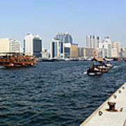 Dubai Pier Art Print