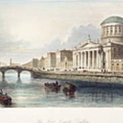 Dublin, 1842 Art Print