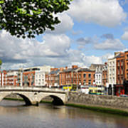 Dublin Cityscape Art Print