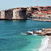 Dubrovnik Old City Art Print