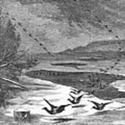 Duck Hunting, 1871 Art Print