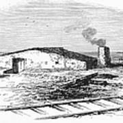 Dugout Home, 1871 Art Print