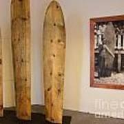 Duke Kahanamoku Surfboards Art Print