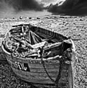 Dungeness Decay Art Print