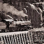 Durango And Silverton Steam Train Art Print