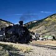Durango And Silverton Train Art Print