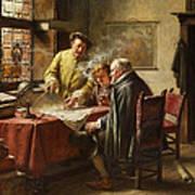 Dutch Merchants Art Print