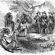 Dutch-native American Fur Trade Art Print