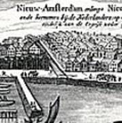 Dutch Recapture Of New York, 1673 Art Print