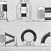 Dynamo Types, 19th Century Art Print