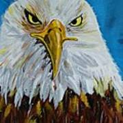 Eagle Art Print by Ismeta Gruenwald
