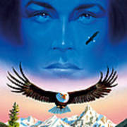 Eagle Mountain Art Print