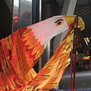 Eagle On The Ship Art Print