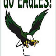 Eagles Vs Dallas Art Print